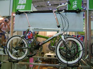 Typical micro frame on show at Taipei