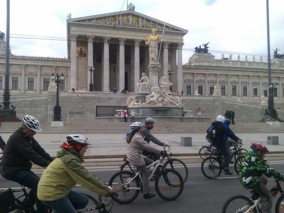 Austrian Parliament RADpaRADe