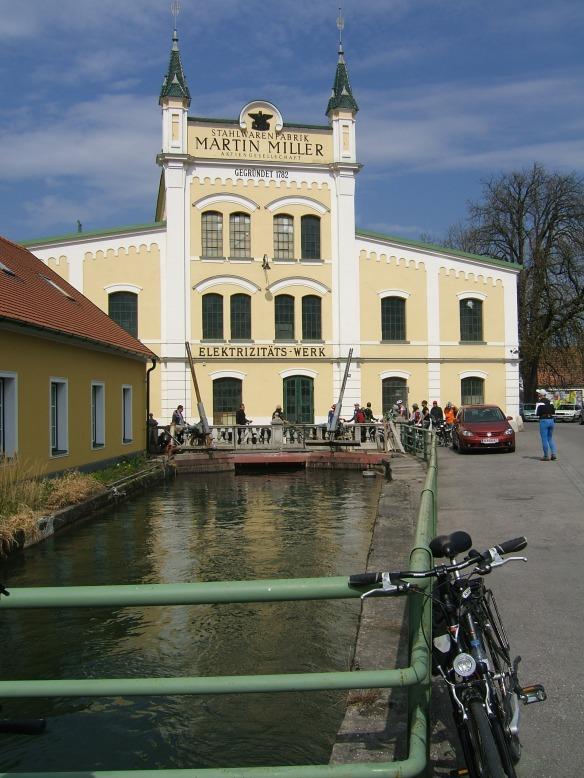 1920s Hydropower plant Danube valley Austria