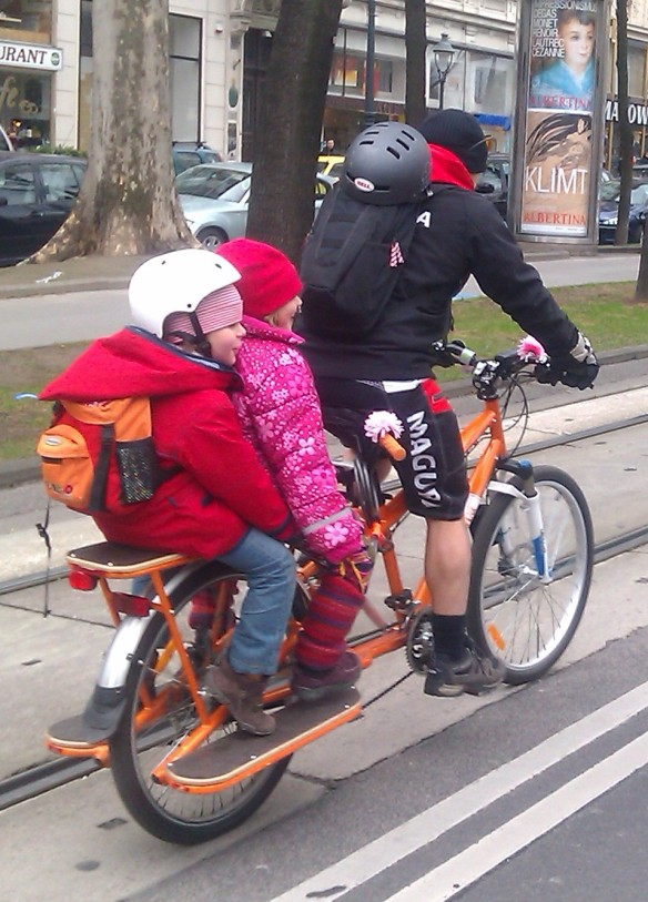 Family bike at  RADpaRADe