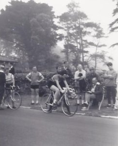Isle of Man Cycling Festival 1966 Time Trial Start