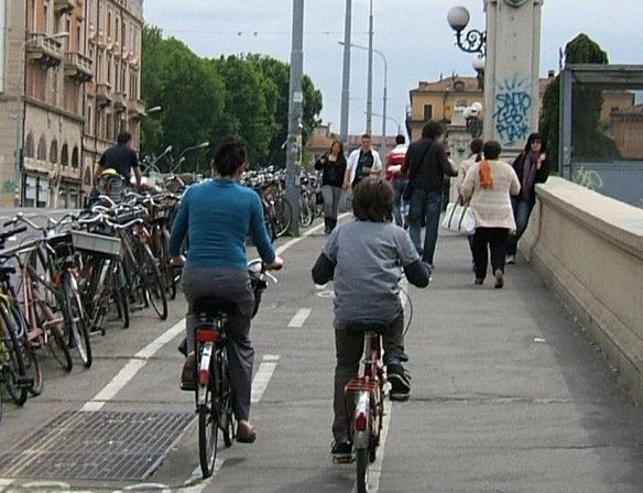 Bologna Cyclists
