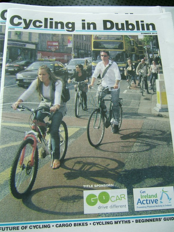 Dublin Promotional magazine for National Bike Week