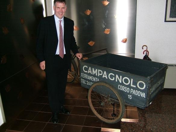 Campagnolo original delivery cart