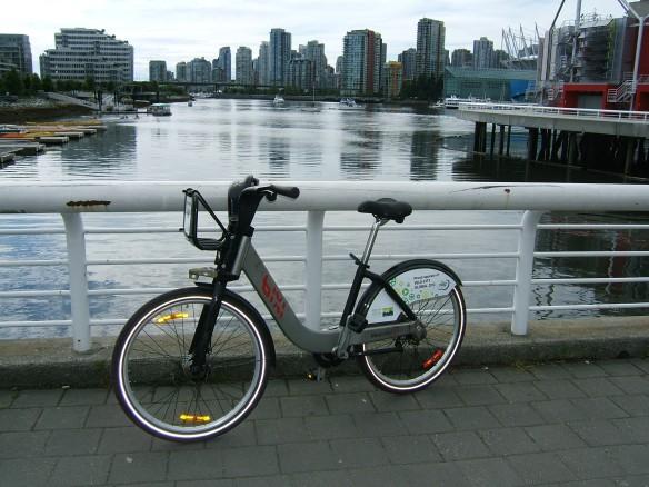 Bixi hire bike Vancouver