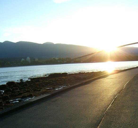 Sunrise, Stanley Park Vancouver
