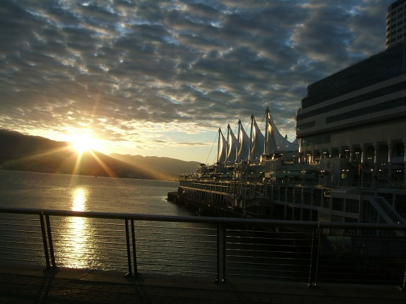 Sunrise - Waterfront, Vancouver