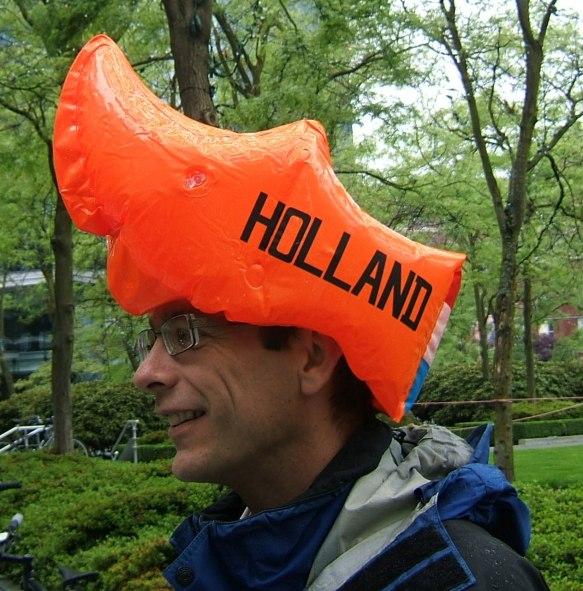 Dutch Cycle helmet!