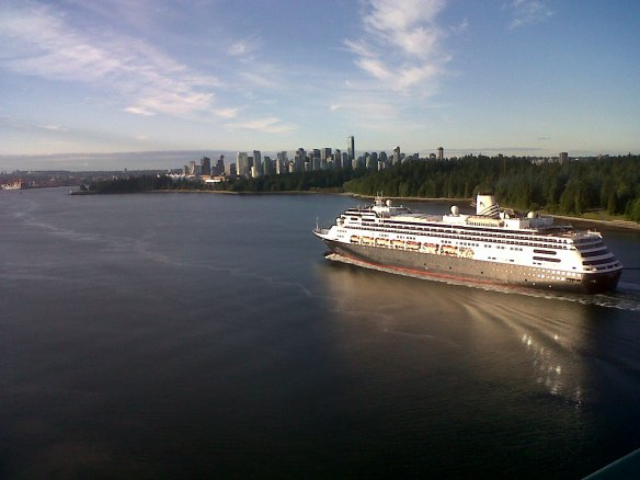 From Lion's Gate Bridge Vancouver