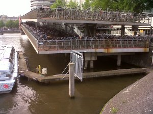 Amsterdam Central Station Cycle Parking Decks