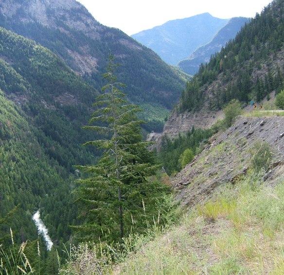 British Columbia Duffey Lake Road