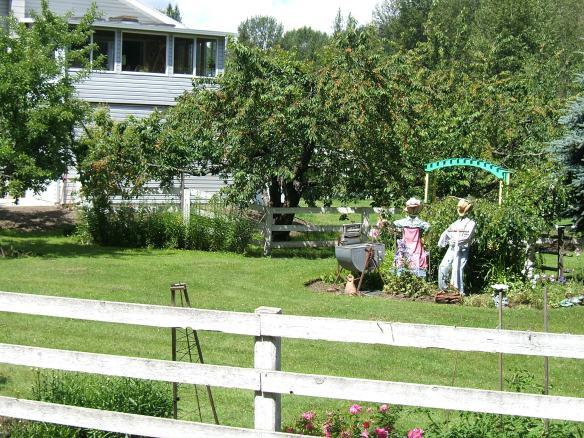 Garden near Pemberton British Columbia