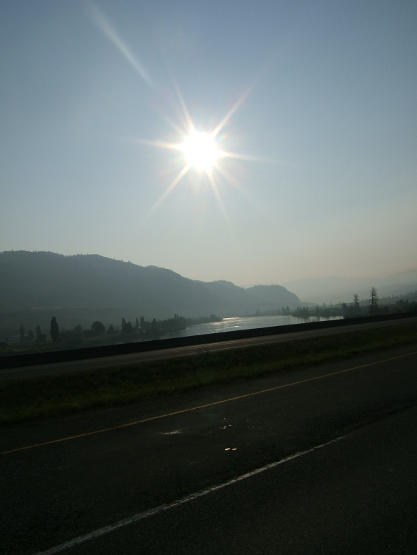 Near Kamloops 6.30 am