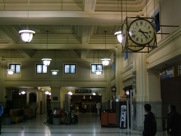 Vancouver Pacific Railway Station interior