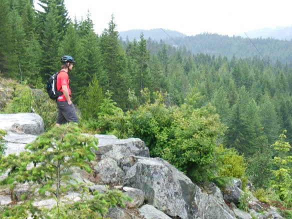 Jamie from Bear Back Riding - Whistler - Green lake View