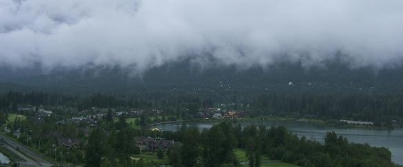 Green Lake View point Whistler