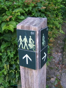 Brussels Greenway sign