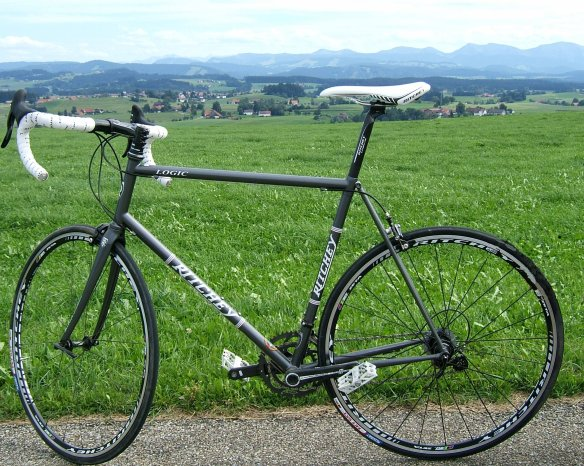 Test ride carbon fibre