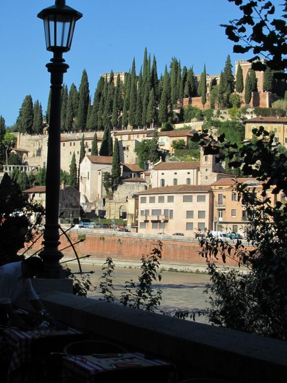 View across River Adige