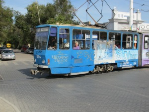 Electric Trolley or Tram car