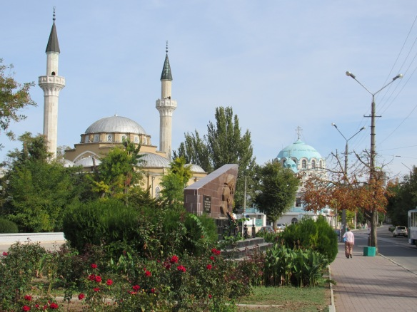 Mosque and cathedral
