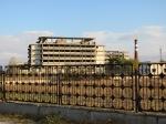 Derelict building and wasteland