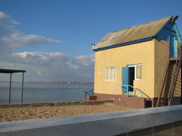 Beach attendant's hut