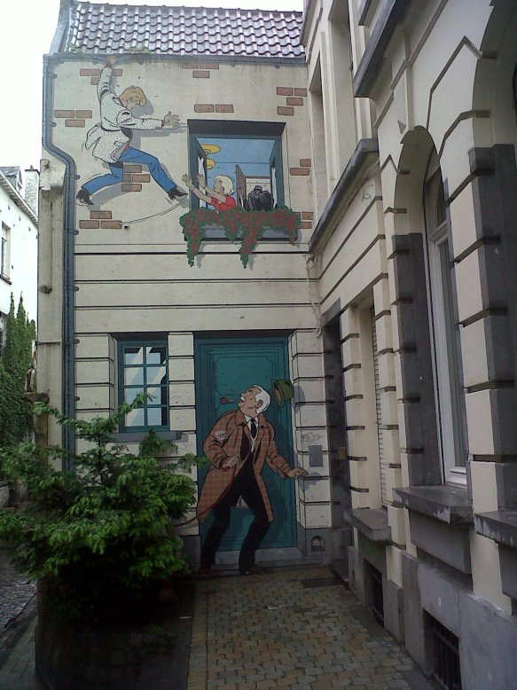 Mural Rue de Bon Secours