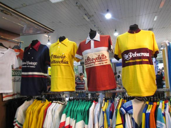 Classic Italian Cycling Tops