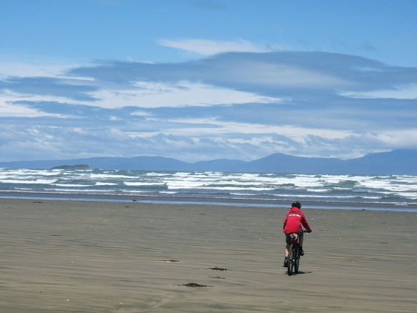 Oreti Beach, Invercargill, New Zealand