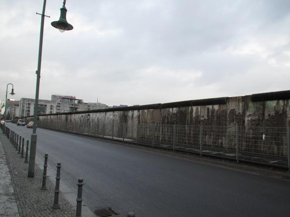 Berlin wall Niederkirchnerstrasse