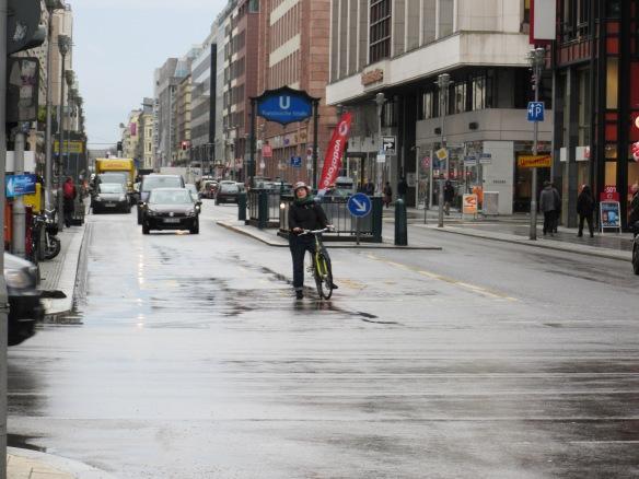Friedrichstrasse Cycling Berlin