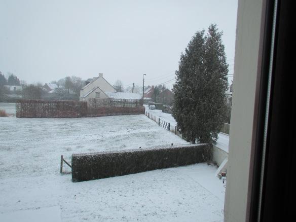 Snow in Lasne
