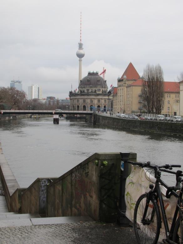 River scene Berlin