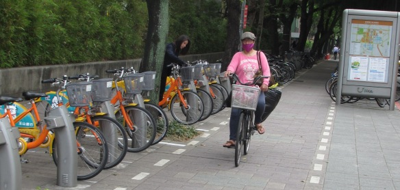 Cyclist Taipei 8