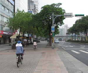 Cyclists Taipei 1