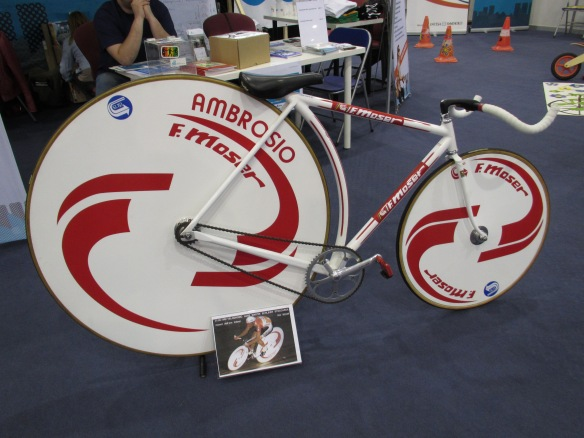 Replica Francesco Moser Hour Record Bike