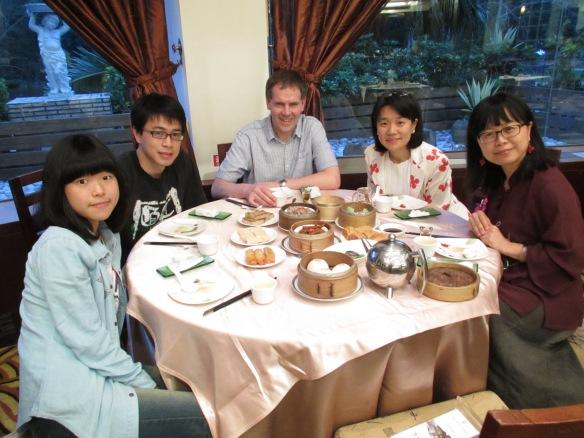 Meal in Hsin Chu, Taiwan