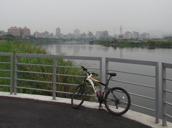 Riverside Cycle Path Taipei