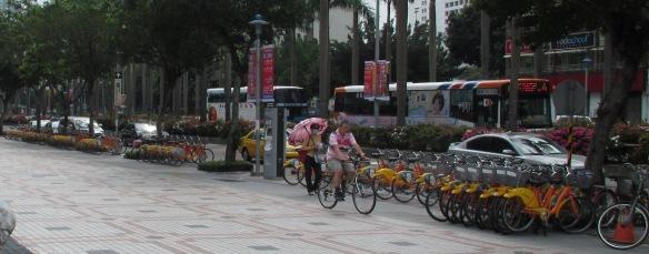 Youbike station Taipei