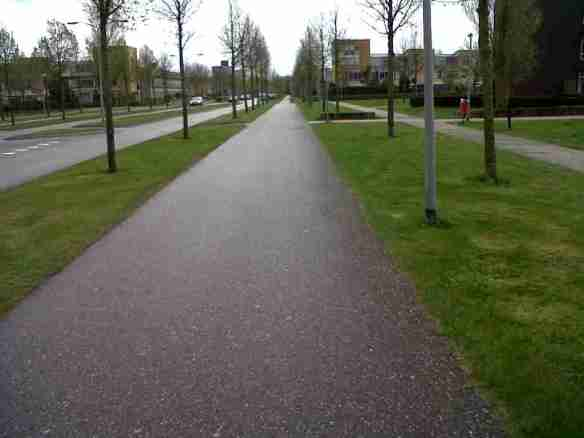 Almere cycle paths