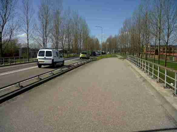 Almere cycling bridge