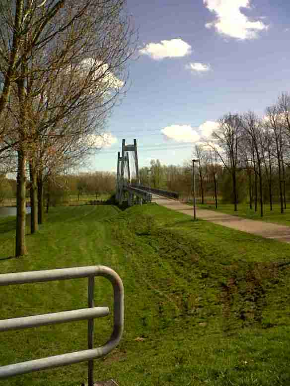 Almere dedicated cycling bridge