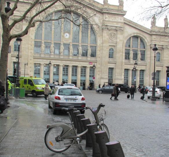 Velib Gare du Nord Paris
