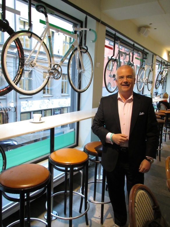 Bianchi cafe Stockholm
