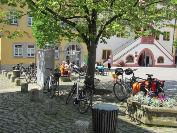 Cycling bikes Franconia Germany
