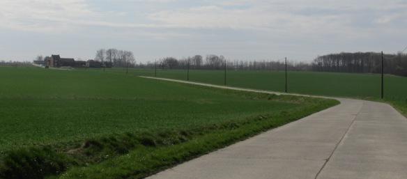 Cycle touring Belgium