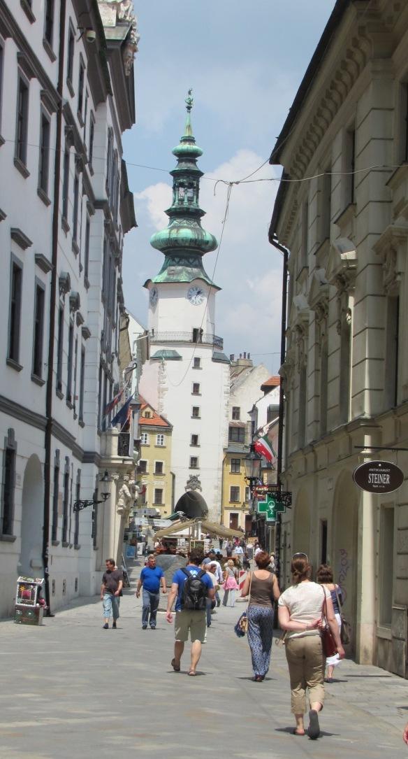 Bratislava Old Town Marks Gate