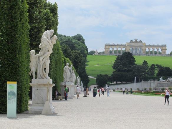Gardens Schonbrun Vienna