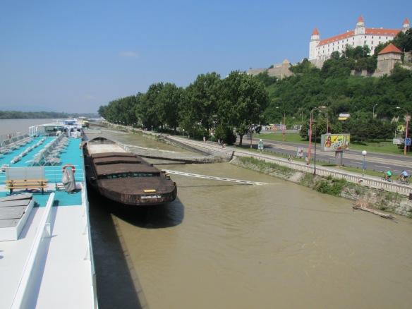Bratislavský hrad Slovakia Eurovelo 6